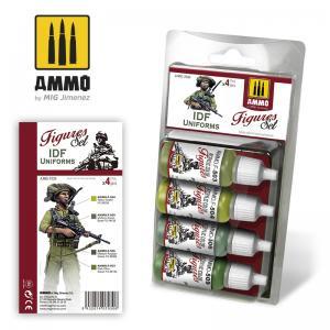 Ammo Mig Jimenez IDF UNIFORMS SET