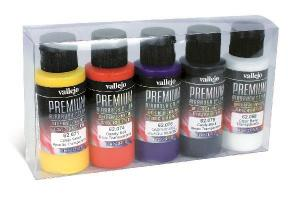 Vallejo Candy Colors Set 5x60 ml