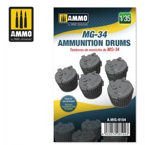Ammo Mig Jimenez MG-34 Ammunition Drums