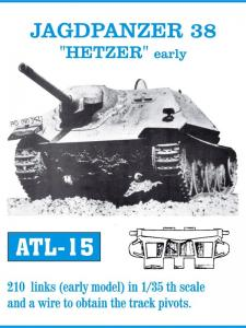 "Friulmodel Jagdpanzer 38 HETZER ""Early"" - Track Links"