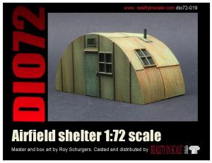 Reality in Scale Airfield Shelter