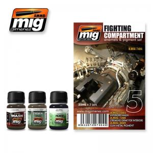 Ammo Mig Jimenez Fight Compartment Set