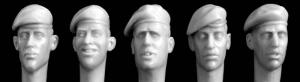 Hornet Models 5 heads, berets mod. style, right pull