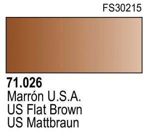 Vallejo Model Air 026 - US Flat Brown