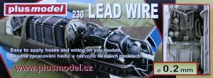 Plus Model Lead Wire 0,2 mm