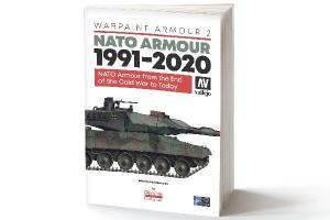 Vallejo WARPAINT ARMOUR 2, NATO ARMOUR 1991-2020 BOOK