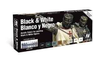 Vallejo Model Color Special Set - Black & White