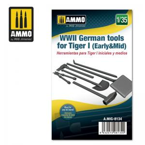 Ammo Mig Jimenez WWII German Tools for Tiger I (Early & Mid)