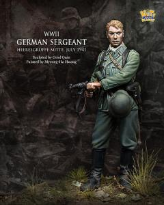 Nuts Planet WW2 German Sergeant