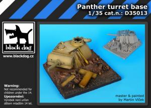 Black Dog Panther Turret Base