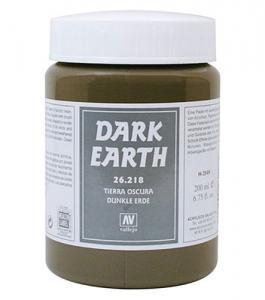 Vallejo Dark Earth 200 ml