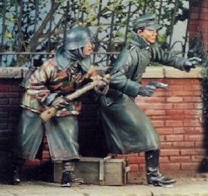 Nemrod German WW2 soldiers, Ardennes 1944 (2fig)