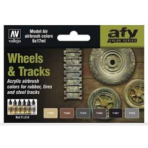 Vallejo Model Air - Wheels & Tracks