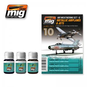 Ammo Mig Jimenez Metallic Airplanes & Jets