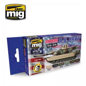 Ammo Mig Jimenez Modern USA Army Colors