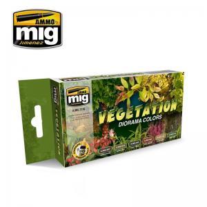 Ammo Mig Jimenez Vegetation Diorama Colors