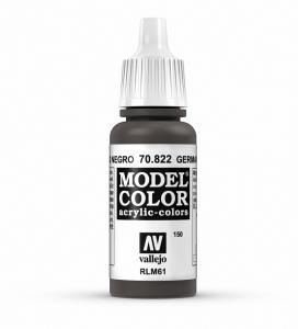 Vallejo Model Color 150 - German cam. Black Brown