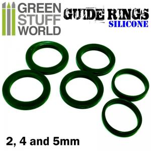 Green Stuff World Guide Rings fo Rolling Pin