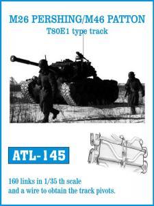 Friulmodel M26 Pershing/M46 Patton T80E1 - Track Links