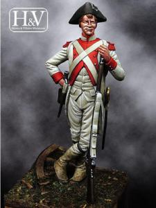 Heroes & Villains French Chasseur, 1782 54mm
