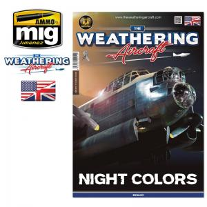 Ammo Mig Jimenez The Weathering Aircraft Issue 14. NIGHT COLORS (English)
