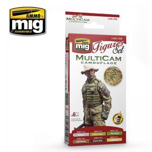 Ammo Mig Jimenez MULTICAM CAMOUFLAGE SET