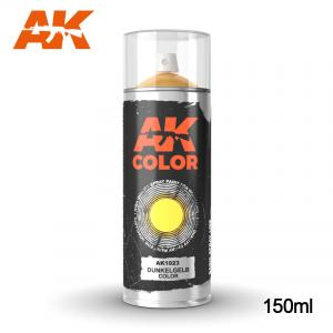 AK Interactive Dunkelgelb color - Spray 150ml