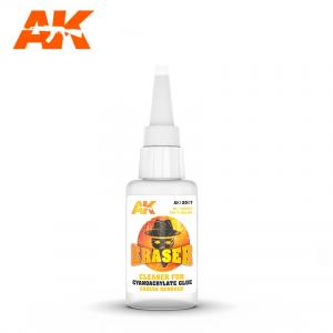 AK Interactive Eraser for Cyanoacrylat