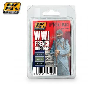AK Interactive WWI FRENCH UNIFORMS