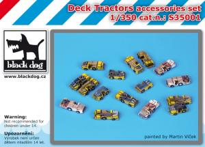 Black Dog Deck Tractors Accessories Set