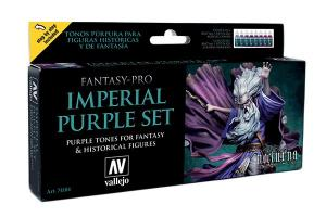 Vallejo Game Color - Imperial Purple Set