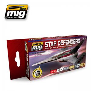 Ammo Mig Jimenez Star Defenders SCI-FI Colors
