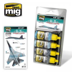 Ammo Mig Jimenez Su-35 Flanger E, colors