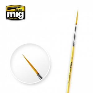 Ammo Mig Jimenez 3/0 Synthetic Liner Brush