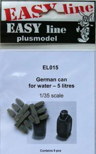 Plus Model German Water Cans 5L (9 pcs)