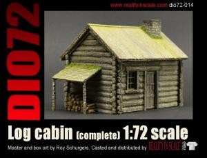 Reality in Scale Log Cabin