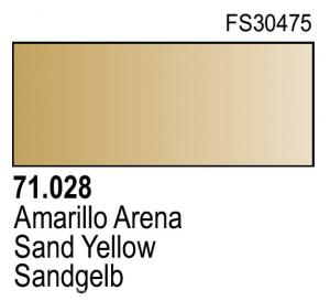 Vallejo Model Air 028 - Sand Yellow
