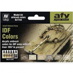 Vallejo Model Air - IDF Colors