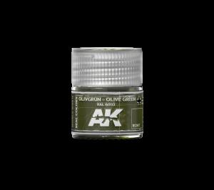 AK Interactive Olivgrün-Olive Green RAL 6003 10ml