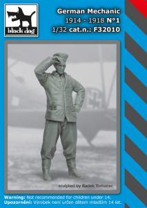 Black Dog German Mechanic 1914-1918 No.1