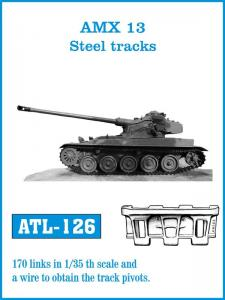 "Friulmodel AMX 13 ""Steel Tracks"" - Track Links"