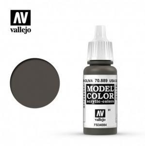 Vallejo Model Color 091 - USA Olive Drab
