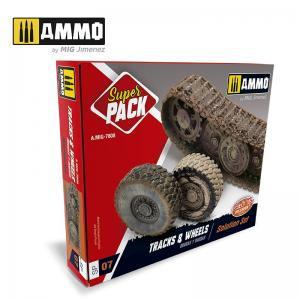Ammo Mig Jimenez Tracks & Wheels Superpack