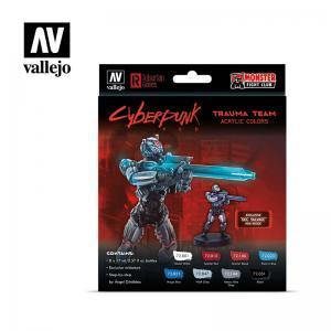 Vallejo Trauma Team by Cyberpunk Red