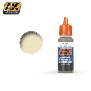 AK Interactive Dry Light Mud 17ml