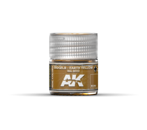 AK Interactive Erdgelb-Earth Yellow RAL 8002 10ml