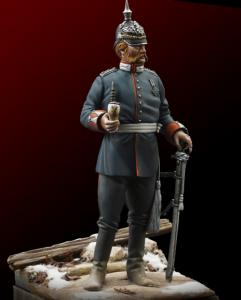 Michael Kontraros Mortal Enemies Franco Prussian Officer 75mm