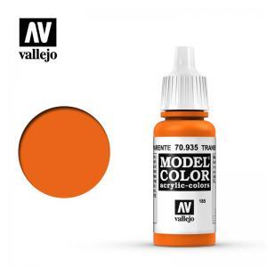 Vallejo Model Color 185 - Orange (Transparent)