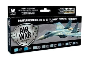 "Vallejo Model Air - Soviet/Russian Colors SU-27 ""Flanker"""