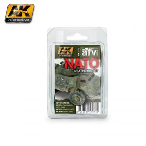 AK Interactive NATO WEATHERING SET